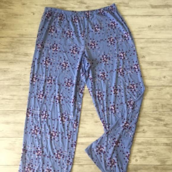 16b53b77d52 Laura Scott Other - LAURA SCOTT Polka Dot Knit Pajama Lounge Pants